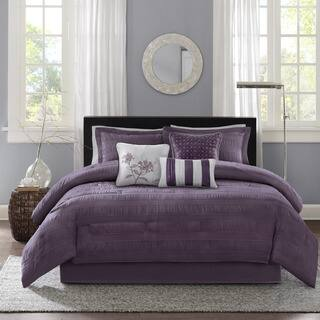 queen bedroom comforter sets. Madison Park Richmond 7 Piece Comforter Set  Option Queen Size Sets For Less Overstock com