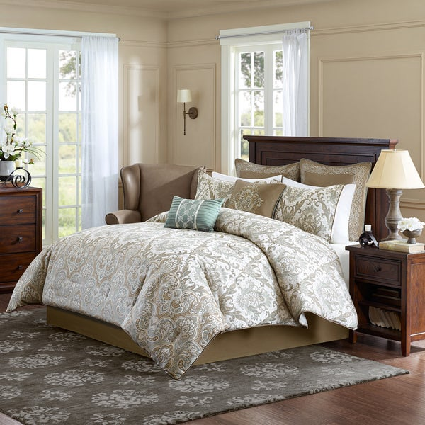 Shop Madison Park Signature Sheffield 8 Piece Comforter