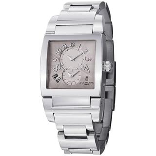 De Grisogono Men's UNODF N01B 'Instrmento' Silver Dial Stainless Steel Watch