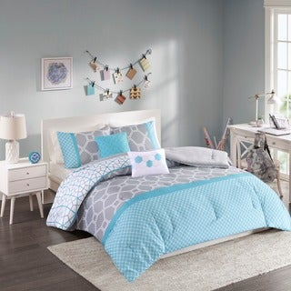 Intelligent Design Zara Blue Comforter Set