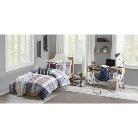 Intelligent Design Harper Blue Comforter Set