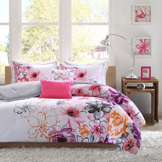 The Curated Nomad Stanyan Floral Microfiber 5-piece Comforter Set
