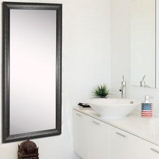 American Made Rayne Royal Curved 30 x 65-inch Vanity Wall Floor Mirror