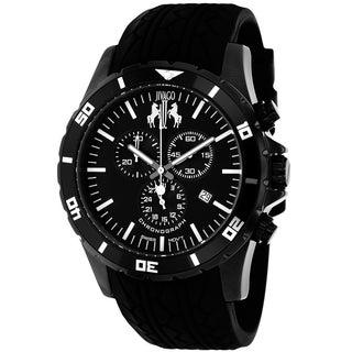 Jivago Men S Ultimate Sport Chronograph Black Watch