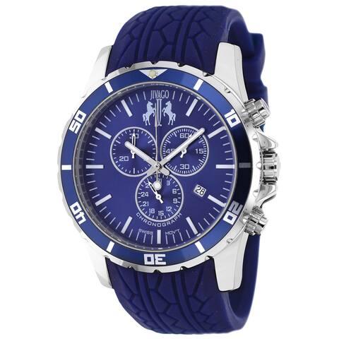 Jivago Men's Blue Ultimate Sport Chronograph Watch