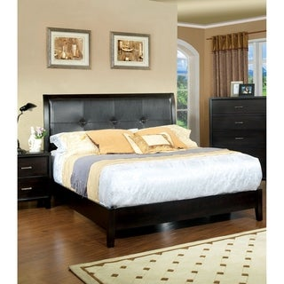 Furniture of America Digh Contemporary Espresso Platform Bed