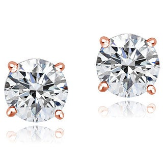 Icz Stonez Platinum Plated Sterling Silver 2ct TGW 100 Facets Cubic Zirconia Stud Earrings|https://ak1.ostkcdn.com/images/products/9240147/P16406235.jpg?_ostk_perf_=percv&impolicy=medium