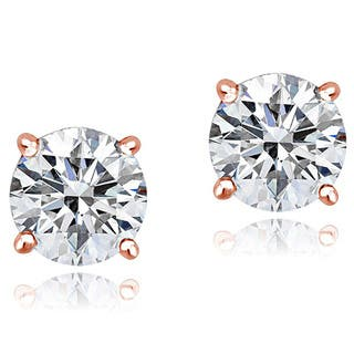 Icz Stonez Platinum Plated Sterling Silver 2ct TGW 100 Facets Cubic Zirconia Stud Earrings|https://ak1.ostkcdn.com/images/products/9240147/P16406235.jpg?impolicy=medium