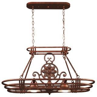 Ariel 2-light Pot Rack