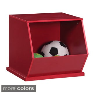 Wooden Stackable Storage Cubby