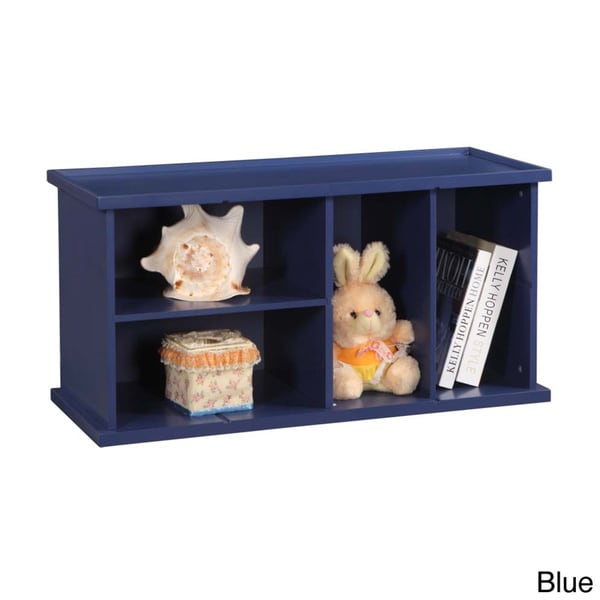 Kid's 4-section Stackable Bookcase