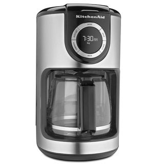 KitchenAid KCM1202OB Onyx Black 12-cup Glass Carafe Coffee Maker with $10 Rebate