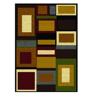 Home Dynamix Royalty Collection Traditional Multi-Red Area Rug (7'8x10'4)