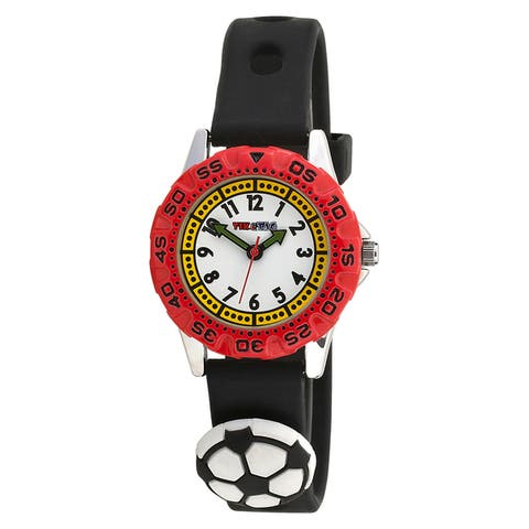Sports Theme Time Teacher/ First Watch with Sports Aadornments Strap