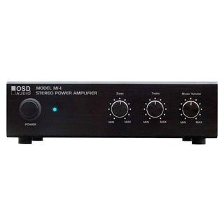 OSD Audio AMP60 Amplifier - 50 W RMS - 2 Channel - Black