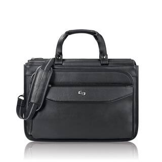 Solo Classic Triple Compartment 15.6-inch Laptop Briefcase|https://ak1.ostkcdn.com/images/products/9240443/P16406812.jpg?impolicy=medium