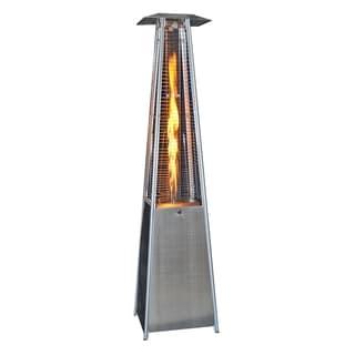 Garden Sun Stainless Steel Patio Wheeled Heater Free