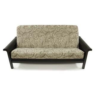 Floral Chenille Full Sized Futon Cover