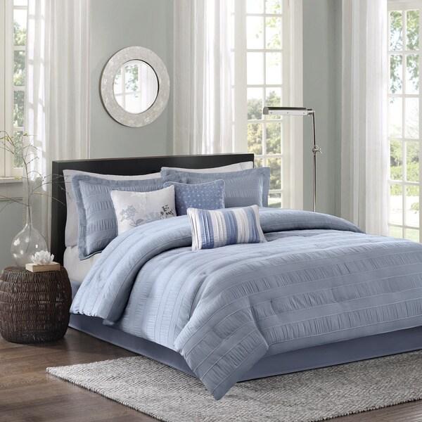 Madison Park Manchester 7-Piece Comforter Set