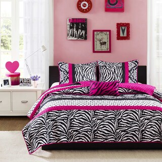 Mi Zone Gemma Pink Coverlet Set