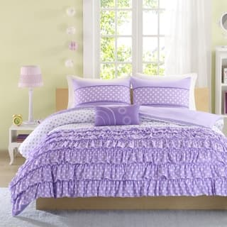 Mi Zone Ellen 4-Piece Comforter Set (Option: Purple)|https://ak1.ostkcdn.com/images/products/9240555/P16406887.jpg?impolicy=medium