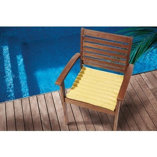 Mina Victory Indoor/Outdoor Yellow Cushion (17-inch x 17-inch) by Nourison