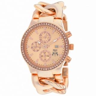 Jivago Women's Lev Rose Goldtone Stainless Steel Watch