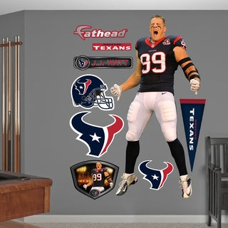 Fathead JJ Watt Entrance Wall Decals