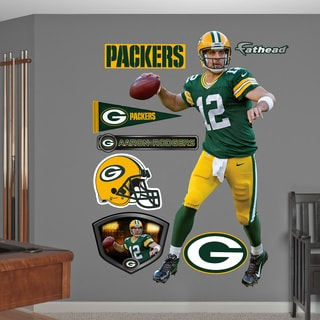 Fathead Aaron Rodgers # 12 Wall Decals
