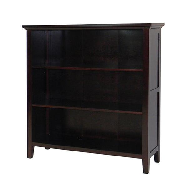 DonnieAnn Ferndale Espresso 3-shelf Bookcase