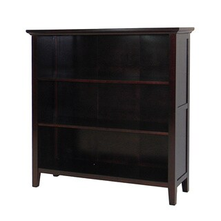 DonnieAnn Ferndale Espresso 3-shelf Bookcase