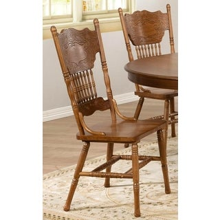 Jasmine Windsor Country Style Dining Chairs (Set of 2)