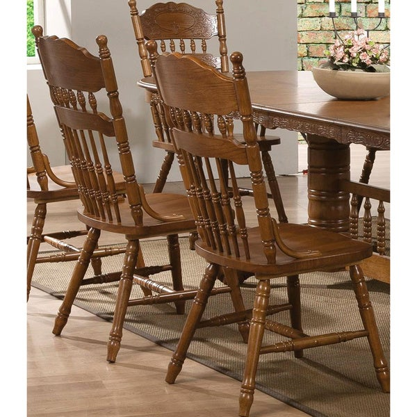 trieste windsor country style dining chairs (set of 2) - free