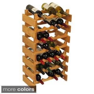 Pine Canopy Arapaho 28-bottle Stackable Wood Wine Rack