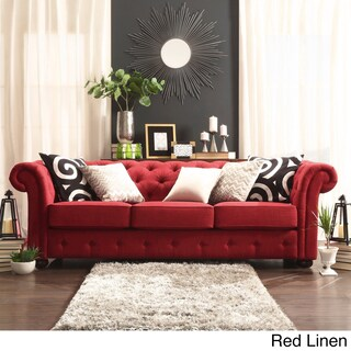 Living Room Decorating Ideas With Red Couch buy red sofas & couches online at overstock | our best living