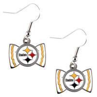 NFL Pittsburgh Steelers Bow Tie Earrings