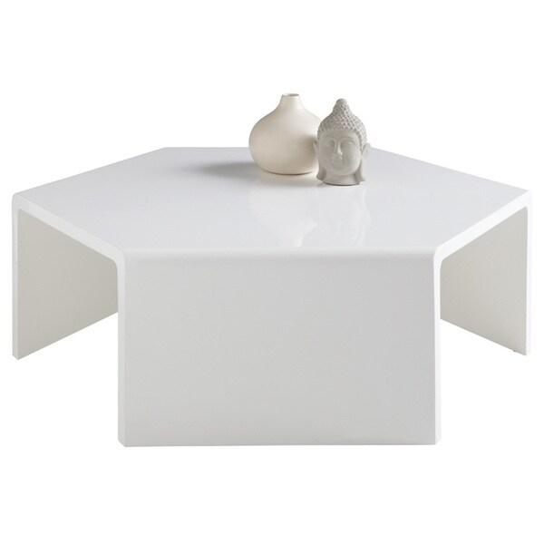 Overstock White Coffee Table.Sunpan Osetra White Coffee Table