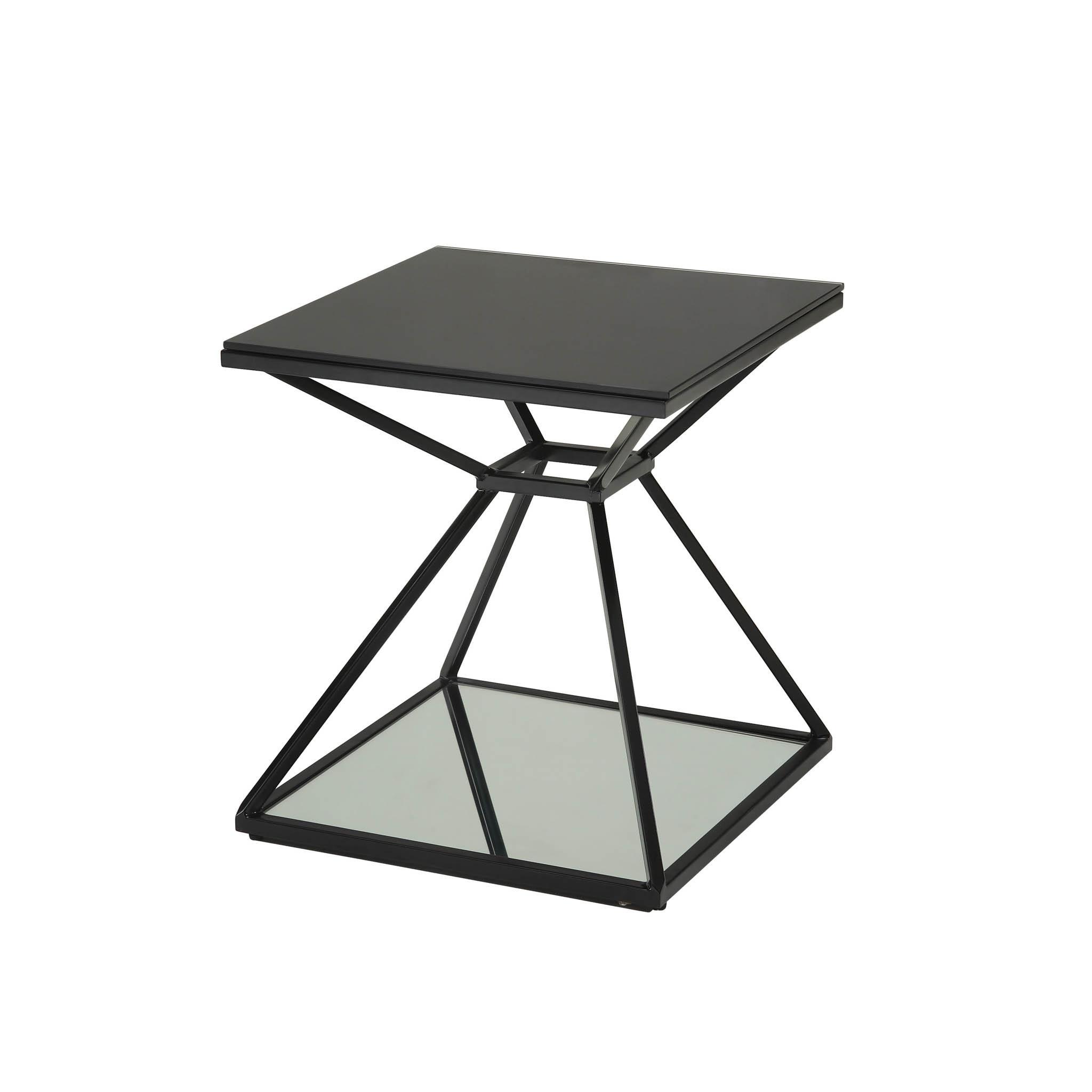 Amazing Sunpan Wedge End Table Creativecarmelina Interior Chair Design Creativecarmelinacom