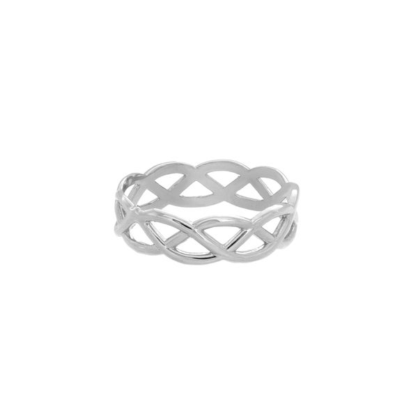 Sterling Essentials Sterling Silver Celtic Midi Ring