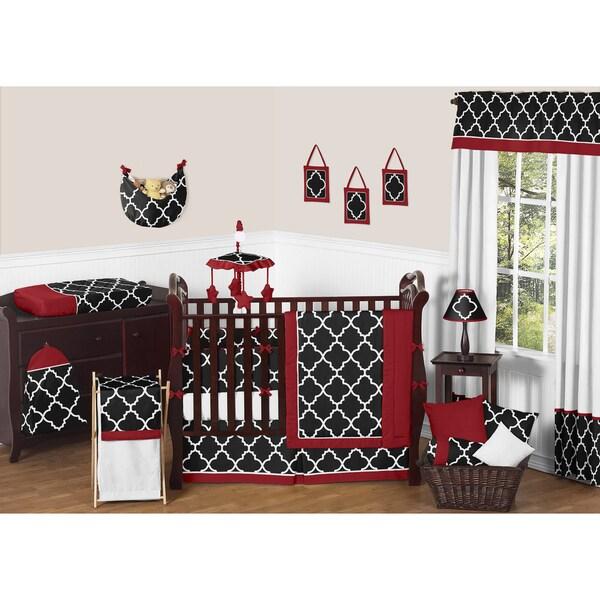 Shop Sweet Jojo Designs Trellis 9 Piece Crib Bedding Set