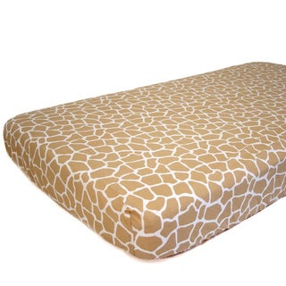 Nurture Imagination Baby Giraffe Fitted Sheet