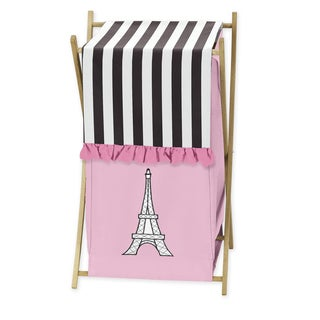 Sweet Jojo Designs Paris Laundry Hamper