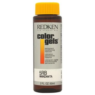 Redken Color Gels Permanent Conditioning 5RB Manzanita 2-ounce Hair Color