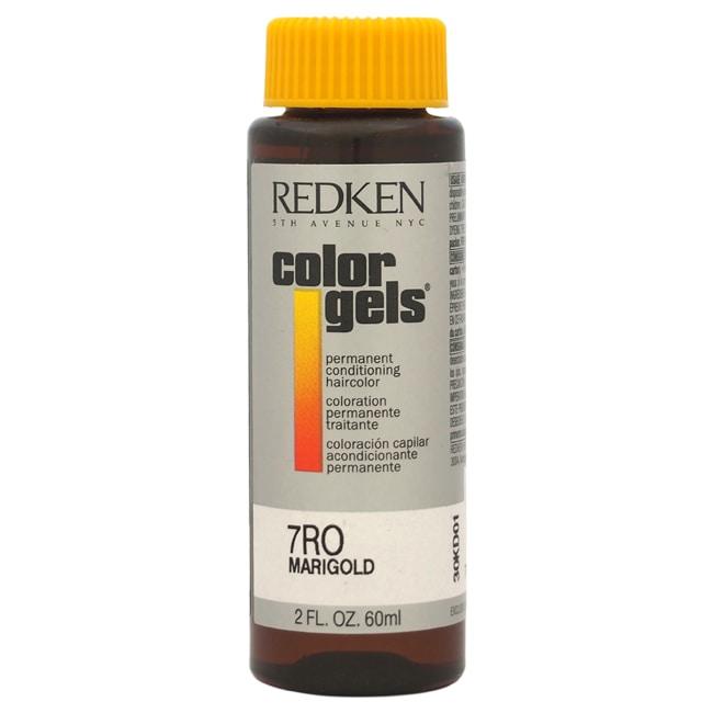 Redken Color Gels Permanent Conditioning 7RO Marigold 2-o...