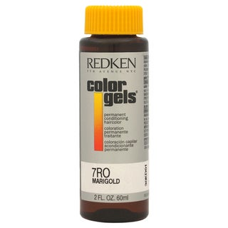 Redken Color Gels Permanent Conditioning 7RO Marigold 2-ounce Hair Color