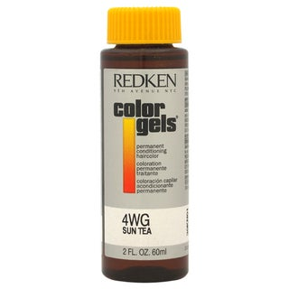 Redken Color Gels Permanent Conditioning 4WG Sun Tea 2-ounce Hair Color