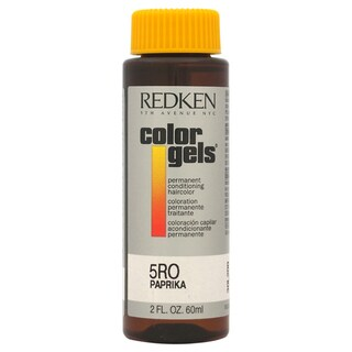 Redken Color Gels Permanent Conditioning 5RO Paprika 2-ounce Hair Color