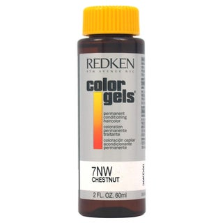 Redken Color Gels Permanent Conditioning 7NW Chestnut 2-ounce Hair Color