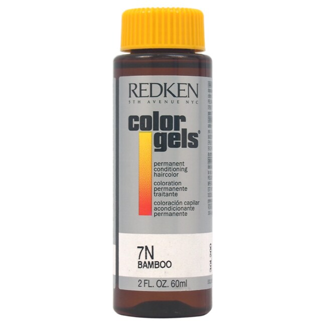 Redken Color Gels Permanent Conditioning 7N Bamboo by 2-o...