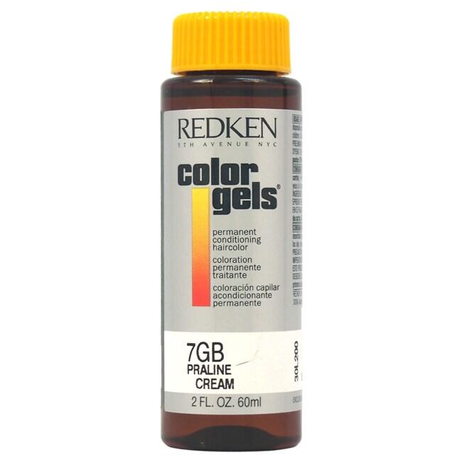 Redken Color Gels Permanent Conditioning 7GB Praline Crea...